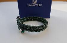 Swarovski Crystaldust Armreif Double, Green Grün 5250687 Größe M