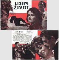 LA BELLE VIE - THE GOOD LIFE Original VERY RARE MINT exYU Movie Program 1963