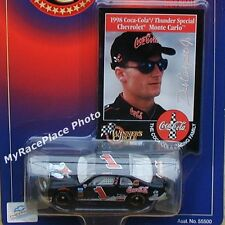 Dale Earnhardt Jr NASCAR 1/64 Diecast Stock Car _ 1998 COCA COLA COKE POLAR BEAR