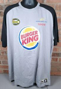 NASCAR David Reutimann Men's Gray T Shirt Michael Waltrip Racing Toyota Size XL