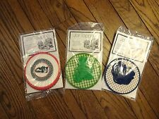 New! Potpourri Press Jar Toppers For Homemade Gifts Given In Jars - 3 Sets of 8