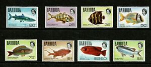 W0219 BARBUDA 1969 Fish  MNH