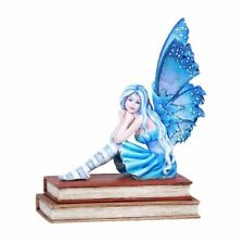 Pacific Giftware Amy Brown Book Muze Fairy Statue Home Decor Pondering