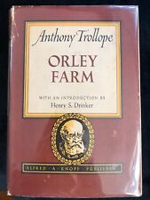 Orley Farm — Anthony Trollope (hardcover; Knopf: Borzoi Series)