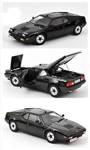 1/18 Norev BMW M1 1980 Black Neuf En Boîte Livraison Domicile norev 183225