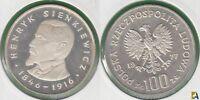 POLONIA - POLSKA. 100 ZLOTYCH DE 1977. PLATA 0.625. (2)
