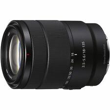 Sony high magnification zoom lens E 18135mm F3.55.6 OSS Sony E mount APSC format