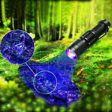 UV Lampe LED Taschenlampe 395 nm Scorpion Bernstein Schwarzlicht Handlampe DE^_^