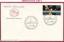 ITALIA FDC CAVALLINO LAVORO ITALIANO ELSAG SPA 1988 ANNULLO TORINO Z417