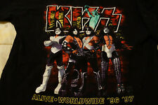Kiss Vintage T-shirt 96 MSG XL NYC Rock Metal Gene Paul Ace Glam Limited July X