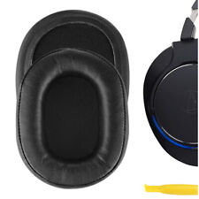 Geekria Replacement Ear Pads for Audio-Technica ATH-MSR7 Headphones (Black)