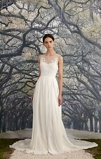 NICOLE MILLER SAVANNAH BRIDAL WEDDING GOWN KA10002 SZ 4 NWT $2200
