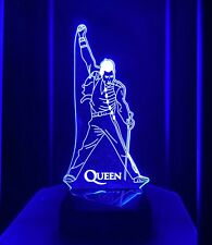 Freddie Mercury Queen W/ Rechargeable light