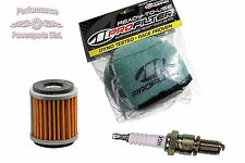 Pre-Oiled RTU Air Filter, Oil Filter & Spark Plug for Honda CRF250R 2005-2009