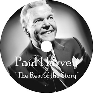 Paul Harvey The Rest Of The Story Old Time Radio OTR MP3 On DVD 605 Episodes