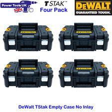 DeWALT Four Pack DWST1-70703SP TStak II Empty Plastic Case No Inlay