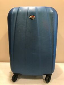 American Tourister Blue Hardsided Spinner Bag Suitcase 19x8x13