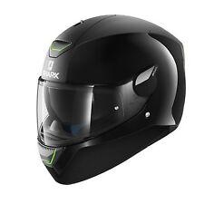 Casco de motocicleta SHARK SKWAL LED Negro Doble X-Small