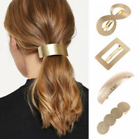 Women Horsetail Headwear Hair Barrette Metal Hair Clip Girls Hairpins Fashion