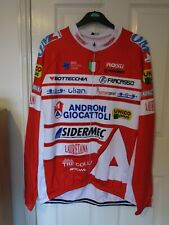 Androni Giocattoli style Mens Long Sleeve cycling jersey Thermal version XL/2XL