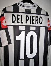 #10 DEL PIERO 2001-2002 MAGLIA JUVENTUS FOOTBALL JUVE SHIRT LOTTO FASTWEB (L)
