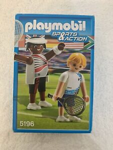 Playmobile Sports and Action NEW Tennis 5196