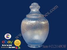 **FREE SHIPPING Lamp Light Fixture Lens Globe Clear Textured Acorn Polycarbonate