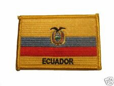 Ecuador Embroidered Flag patch-Iron on orSew