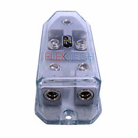 Stinger SHD820 Fused Distribution Block 1 in - 2 out Midi Style Fuses HPM Series