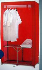 2 Stück Schrank Faltschrank Kleiderschrank Universalschrank Campingschrank