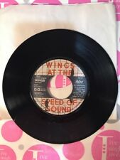 "WINGS: ""Silly Love Songs"" / ""Cook Of The House"" 1976 45 Capitol #93057 VG"