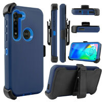 For Motorola Moto G Stylus/G Power 2020 Case+Belt Clip fits Otterbox Defende