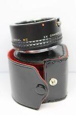 FOCAL MC 2X Converter  lens for PENTAX K , KR mount cameras MINT, FREE SHIP