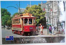 Christchurch Tramcar , New Zealand. Views Photographic. UNSENT