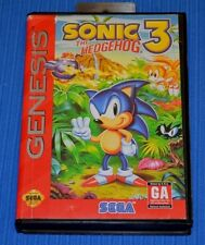Sonic the Hedgehog 3 (Sega Genesis, 1994) Complete Authentic Tested