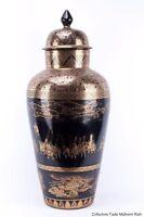 Japan 20. Jh. Große Deckelvase - A Japanese Porcelain Vase - Japonais Giapponese