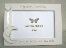 personalised photo frame 6x4 inch.NIECE  love you to the moon and back
