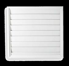"""Automatic Exhaust Ceiling Shutter for Whole House Fan White Gravity 26"""" x 26"""""""