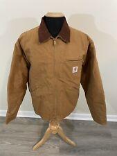 Vintage 80s Carhartt Detroit Duck Lined Jacket USA Men's XL