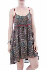Nouveau Free People one imperial strappy women's mini robe noir taille xs BCF57