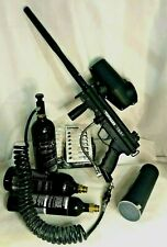 Tippmann A5 Paintball Marker Model 0376576 Made In Usa ~ 9 Accessories Included