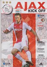 Programma / Programme Ajax Amsterdam v Feyenoord Rotterdam 23-10-2011