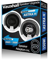 Vauxhall Astra H de la puerta trasera oradores Fli altavoz para automóvil Kit + Adaptador vainas Anillo 150 W
