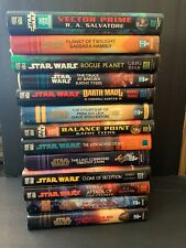 Lot of 13 Star Wars Hardcover Books Novels Science Fiction Jedi Sith Empire Hc