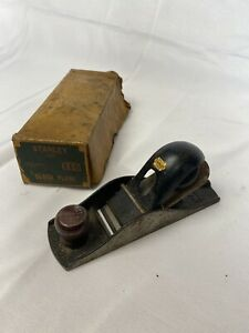 Vintage Stanley No. 110 Block Plane 1 5/8 Inch Cutter, 7 Inches Long