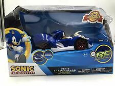 Sonic & All-Stars Racing Transformed Full Function Rc Car With Headlights New