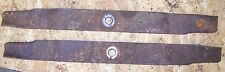 """Pair of 24"""" Blades for 72"""" Rotomec Finish Mower (3/4"""" Hole)"""