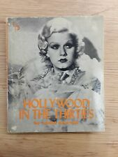 HOLLYWOOD IN THE THIRTIES., Baxter, John., Used; 1968