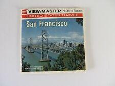 Vintage GAF Viewmaster Reels San Francisco California #1161