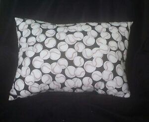 Couch Pillow - Sports Fan Baseball Pillow